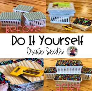 DIY Crate Seats Blog Post