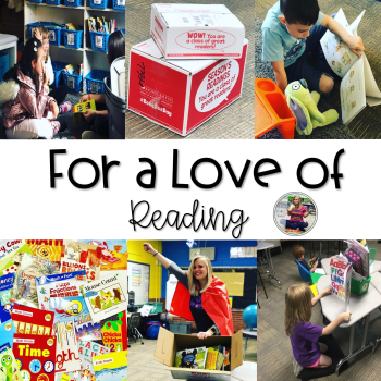 For A Love of Reading Blog Post