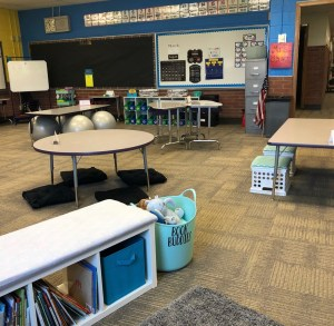 setting up your classroom at the beginning of the year