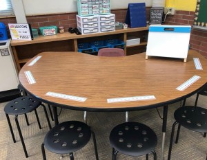 guided reading and math groups