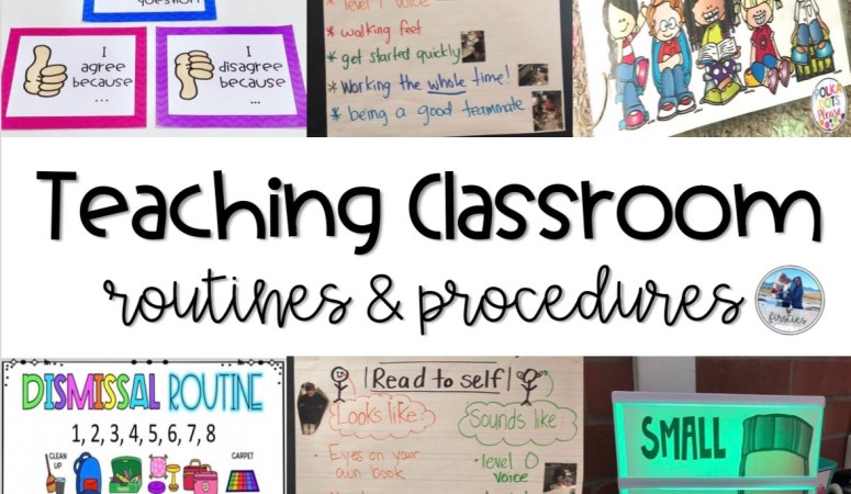 Teaching Routines & Procedures