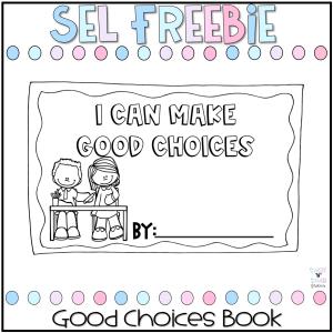 Good Choices Book Freebie