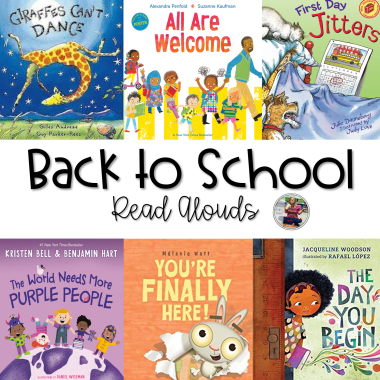 Best Back to School Read Alouds Blog Post