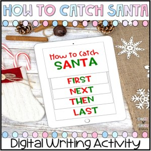 Digital How to Catch Santa Writing