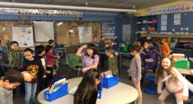 Classroom Snowball Fight