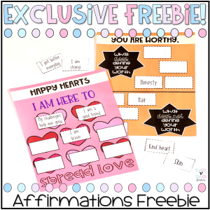 Positive Affirmations Freebie