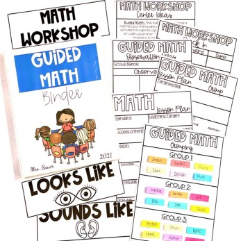 Math Workshop and Guided Math Must Have
