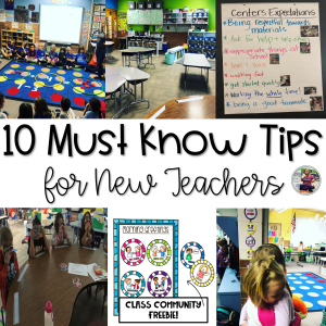 10 must know tips for new teachers blog post