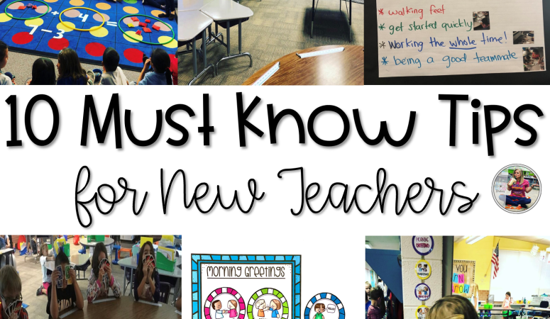 10 Must Know Tips for New Teachers