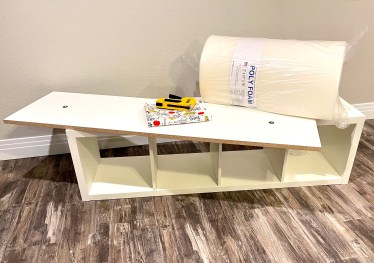 materials for creating your own bench seat