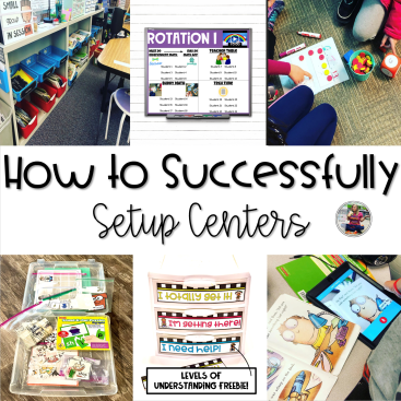 how to successfully setup centers blog post