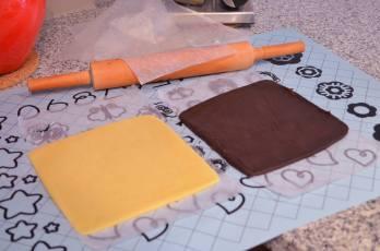 Shape the cookies : Steps 1 -3