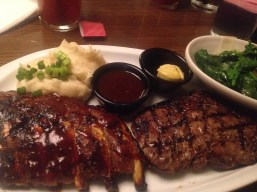 Friday's: Ribs and Steak