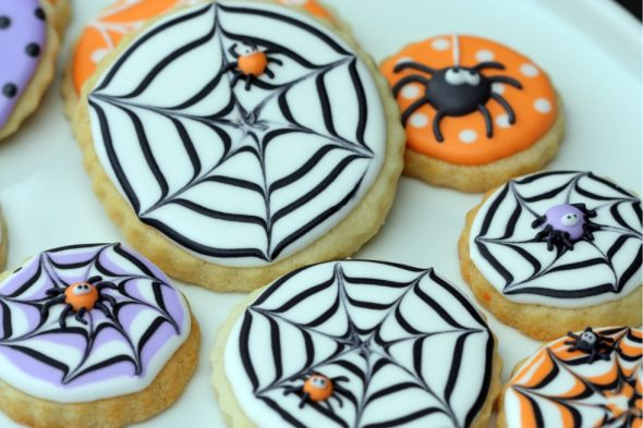 02/09/2020· peanut butter spider cookies. How To Make A Spider Web Decorated Cookie Sweetopia