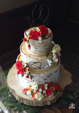 wedding cakes that look like tree bark » Full HD Pictures [4K Ultra ...