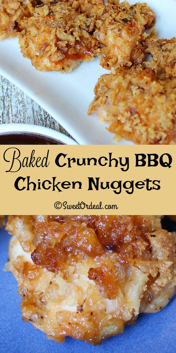 Crunchy BBQ Chicken Nuggets