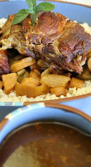 Slow Cooker Pork Roast with Veggies and Gravy