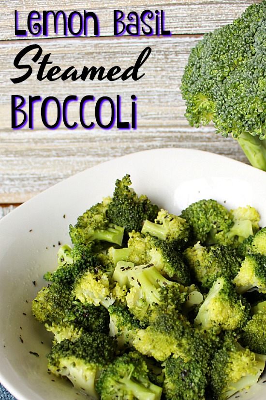 Lemon Basil Broccoli