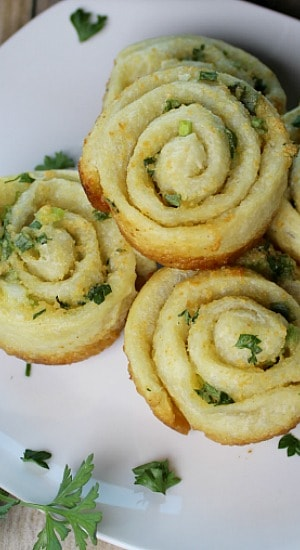 Garlic French Bread Swirls