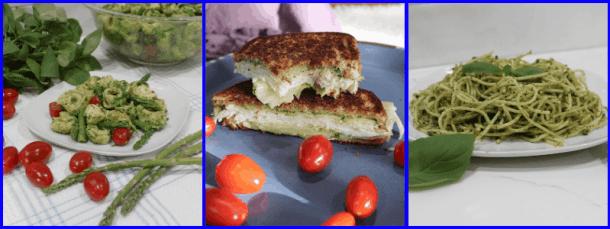 Serving suggestions: tortellini salad, turkey sandwich, or plate of spaghetti.