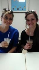 Drinking shakes