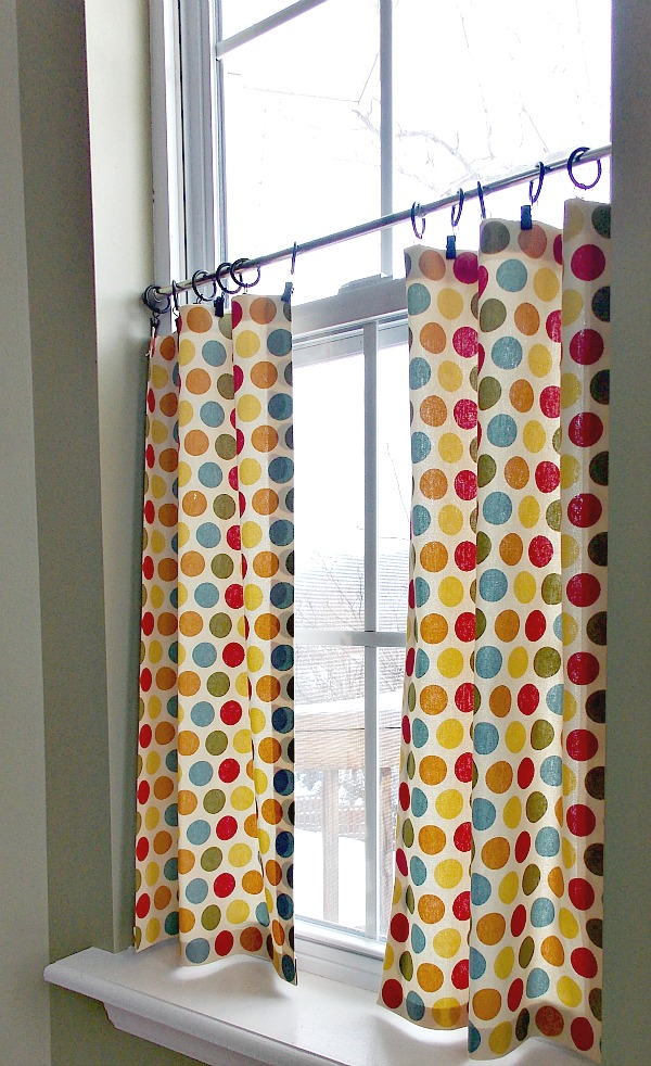 diy no sew cafe curtains sweet