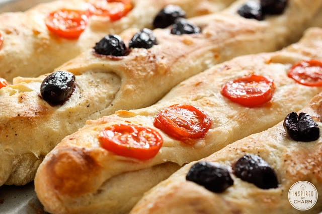 olive and tomato bread