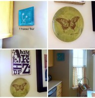 Cheap And Easy Method For Hanging Plates