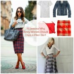 Plaid Skirts & What I Wore Wednesday