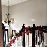 Christmas Entryway and Advent Calendar Garland