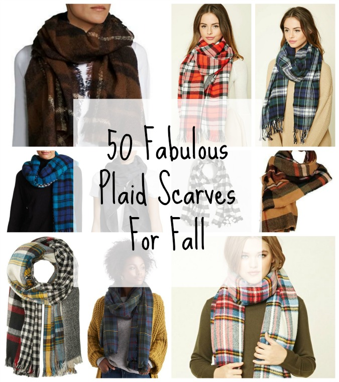 50 Fabulous Plaid Scarves For Fall