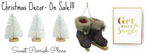 I'm Lovin' It- Christmas Decor on Sale!
