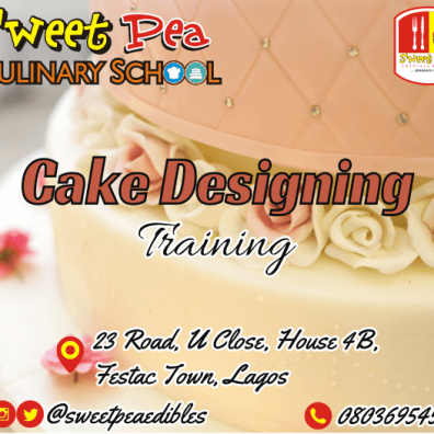 Learn how to decorate cakes in 2 weeks! • Easy to understand training manual • Intensive classes on different icings, how to make them and how to use them • Class project • Certification • Free-after training consultation