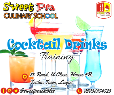 Learn how to mix up and create colorful and tingling drinks in 1 week • Explanatory training manual • Practical, do-it-yourself classes • 15 sumptuous chops to be learnt • Class project • Certification • Free-after training consultation