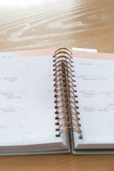 Plan to Plan, & Become More Productive