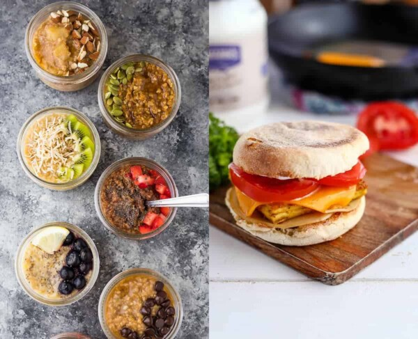 59 delicious vegan meal prep recipes including vegan breakfast recipes that will have you covered for convenient plant-based breakfasts, lunches, dinners and snacks! These recipes are easy to prepare ahead for the week, and are packed with protein to leave you feeling full.#mealprep #vegan #lunch #makeahead #freezer #dinner #plantbased #healthy