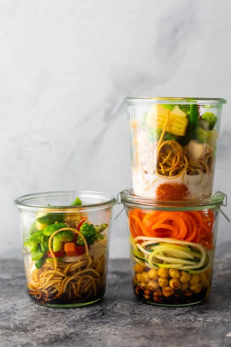 Homemade instant noodles easy and healthy meal prep ideas