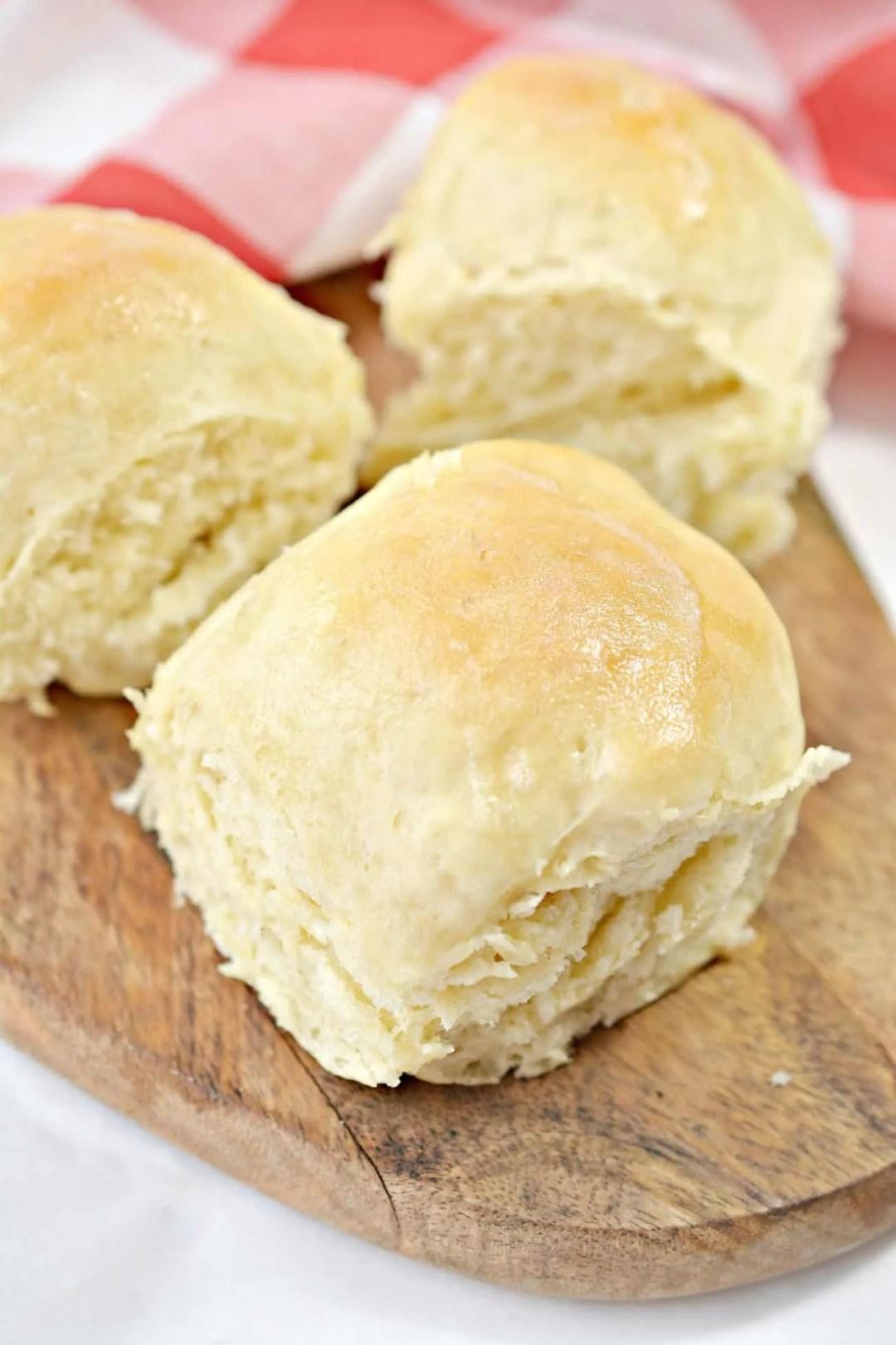 Soft Buttery Yeast Rolls