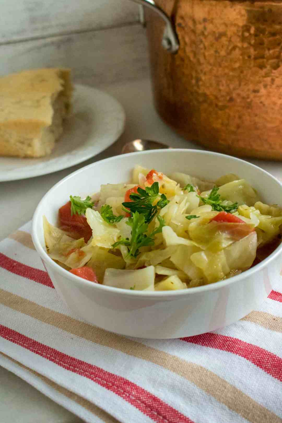 Super Easy Cabbage Soup