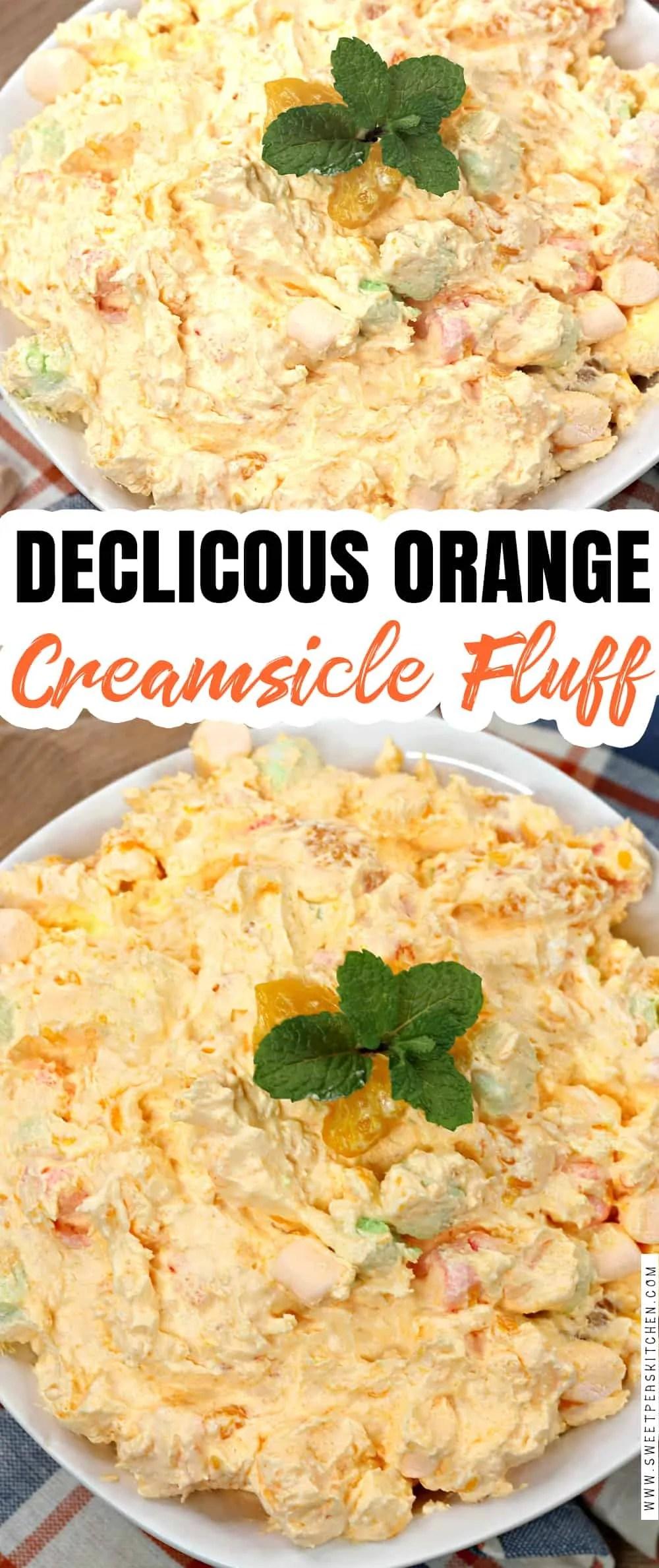 Orange Creamsicle Fluff