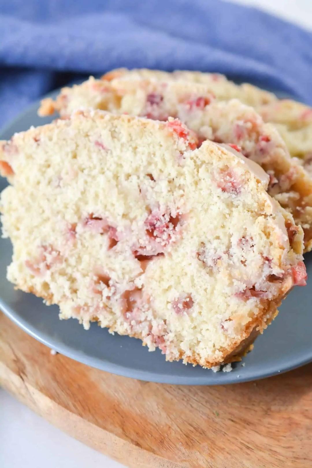 Best Fresh Homemade Strawberry Bread