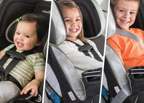 Evenflo Symphony Elite / all one car seat