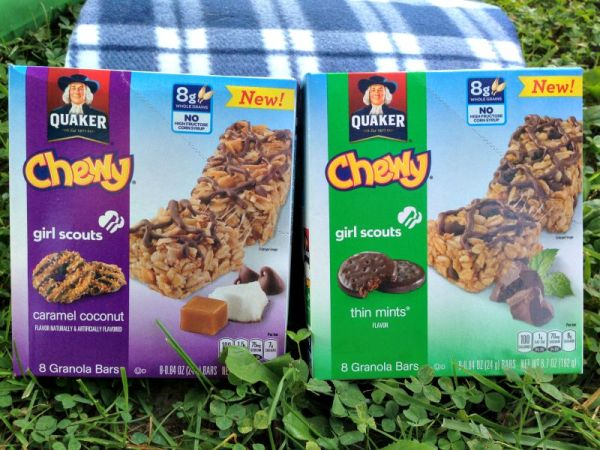 Introducing the Quaker Chewy Girl Scouts Granola Bars