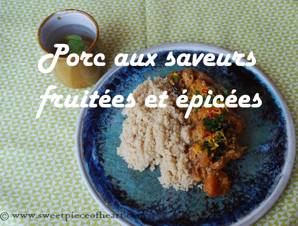recette-porc-fruits