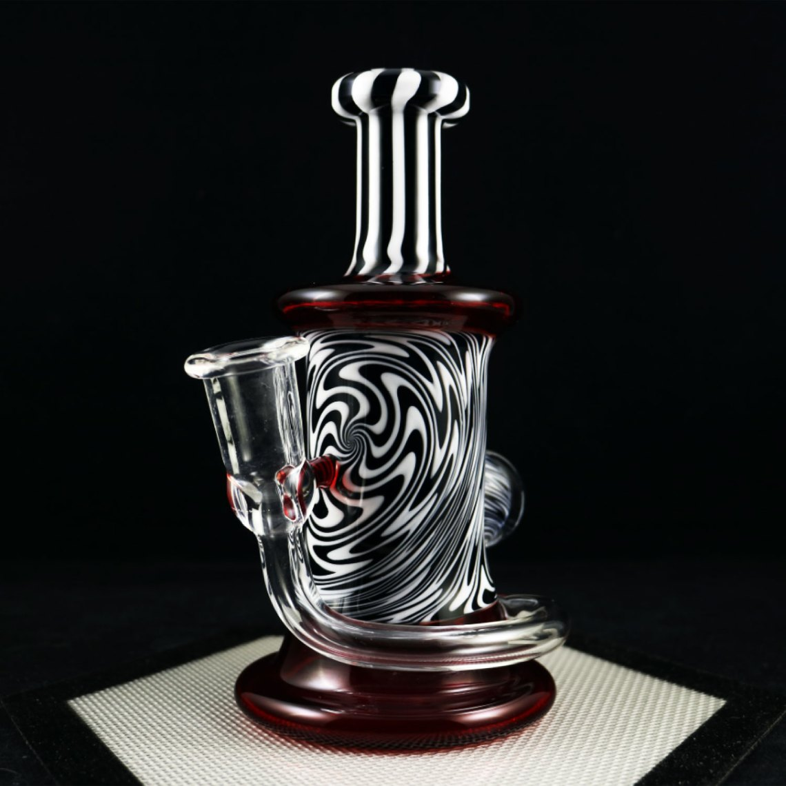 Philpot Glassworks Custom Wig Wag Spinnerjet