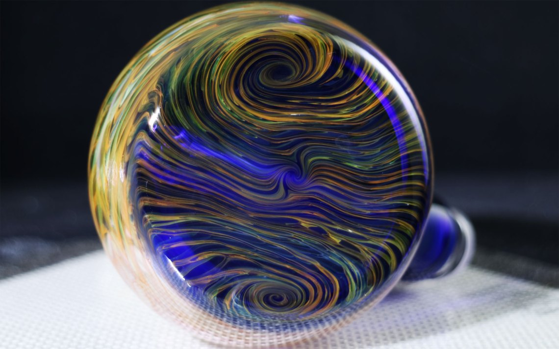 B-Hold Glass X Shockey – Fumed Mini Water Shredder Collab