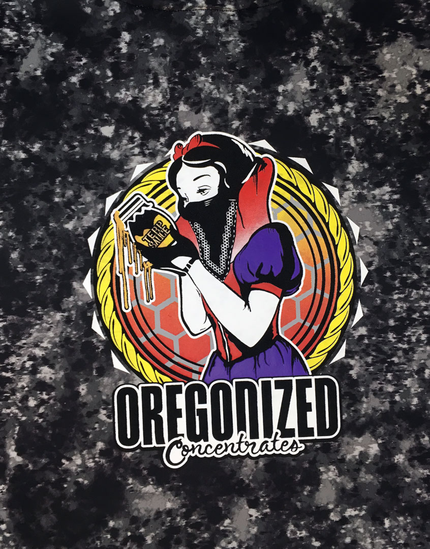 Oregonized Apparel Black Rock Sauce Princess Pullover Hoodie