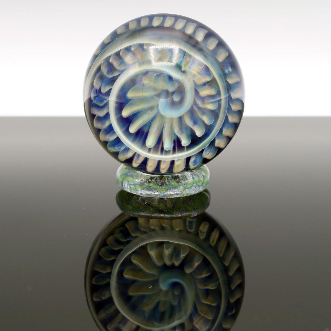 Garden of Eden Glass – Fumed Swirly Marble