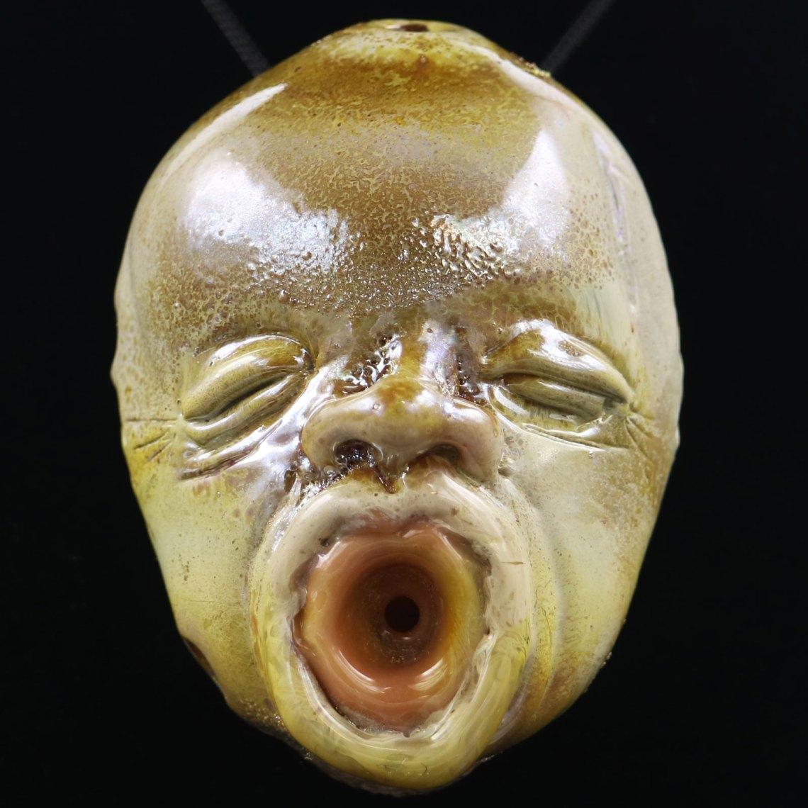 Jonny Carrcass – Baby Face Pendant Bowl Mouth