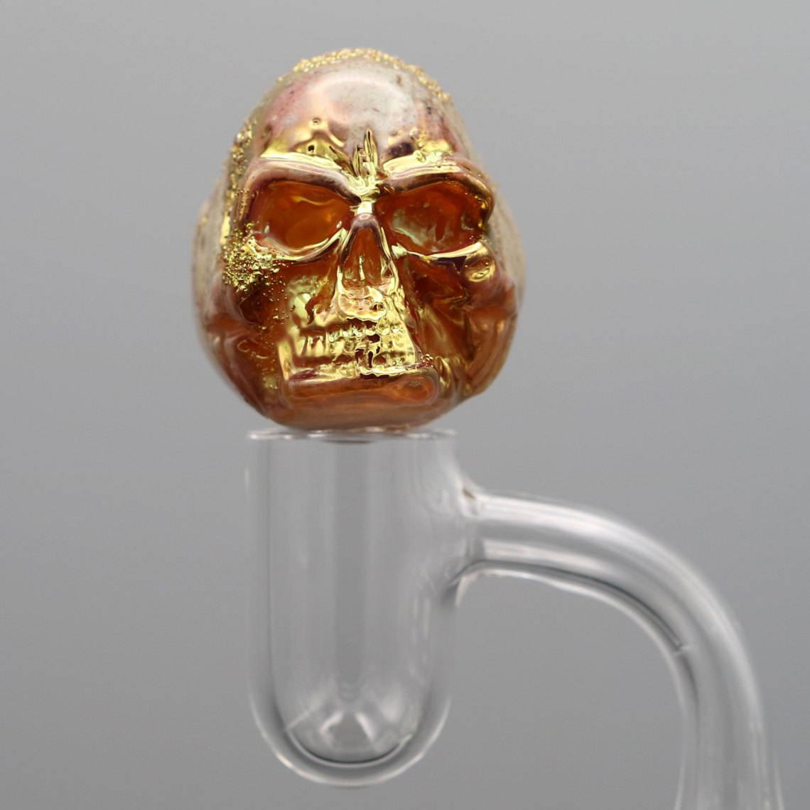 Jonny Carrcass – Gold Fumed Skull Bubblecap